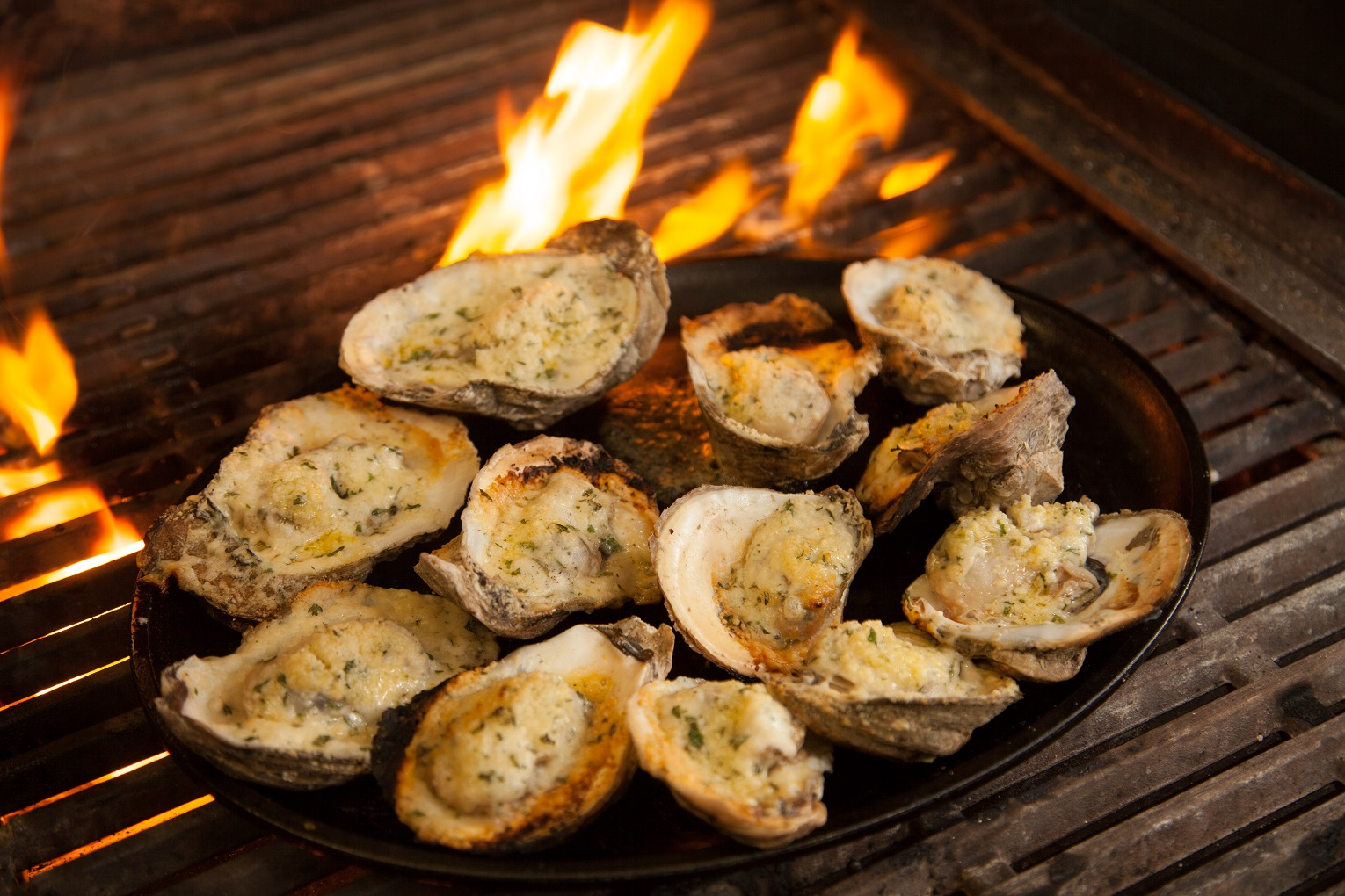 Grilled Oysters Recipes — Dishmaps