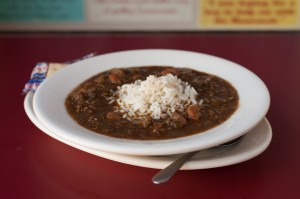Our award-winning gumbo