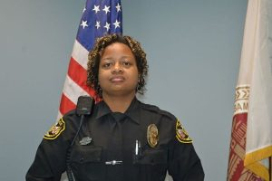 Saraland police officer Jackie Tucker was critically wounded in the line of duty on December 21, 2017.